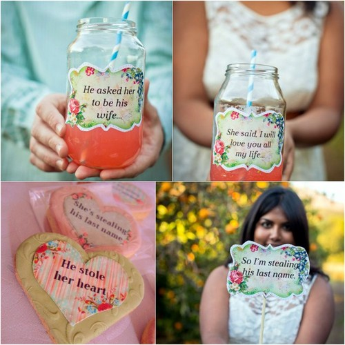 DIY Engagement Party Projects & Free Printables