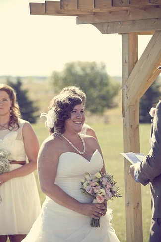 Country Chic Burlap and Lace DIY Wedding