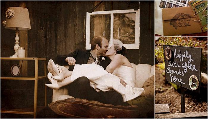 A Handmade Wedding with a Rustic Twist in Portland, Oregon