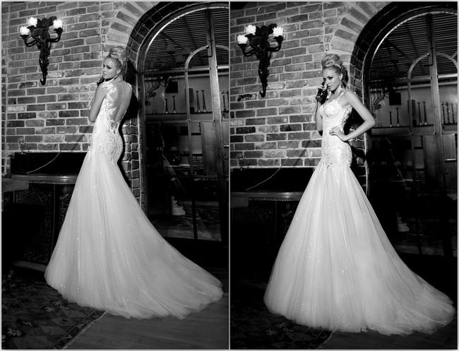 Backless Wedding Dress