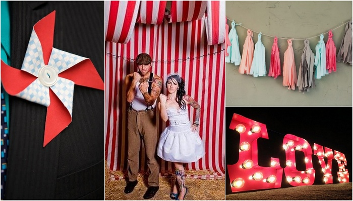 20 Diy Carnival Theme Wedding Ideas