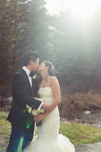 Glamorous Gold Green and White Wedding