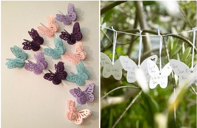 21 DIY Butterflies Wedding Theme & Ideas