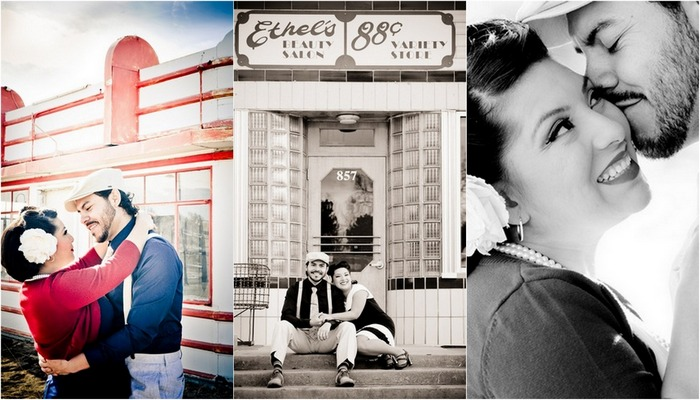 1930s Themed Retro Love in Colorado {Engagement Shoot}