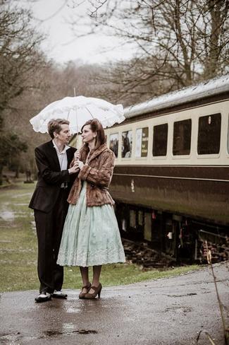 1940s Vintage Railway E-Shoot, Monmouthshire, UK
