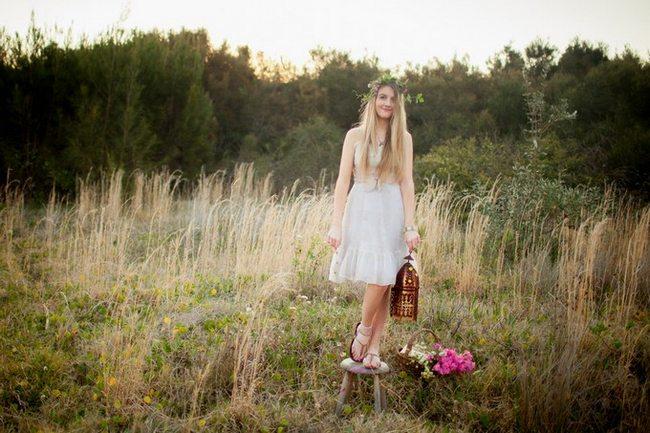 Boho Flower Girl and Bridesmaid Inspiration