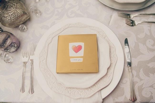 Silver Gold Cream Vintage Tablescape Inspiration