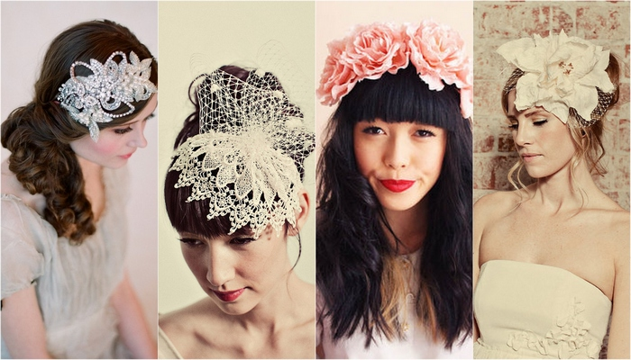 Bridal & Wedding Headpieces: 10 Prettiest!