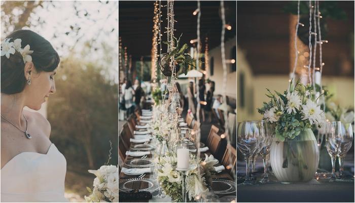 White & Green Outdoor Wedding {Dornier Estate}