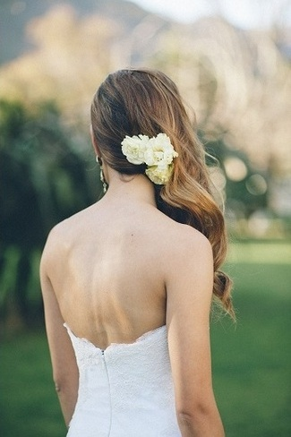 Peach and Turquoise Wedding {Real Bride}