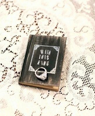 Rustic Ring Bearer Pillow Book