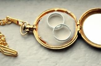 Ring Bearer Pocket Watch