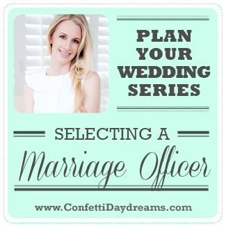 Selecting A Marriage Officer ft. Nicolette Weddings