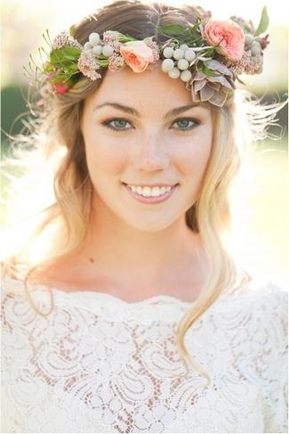 Fl Bridal Crowns Flower Wreaths