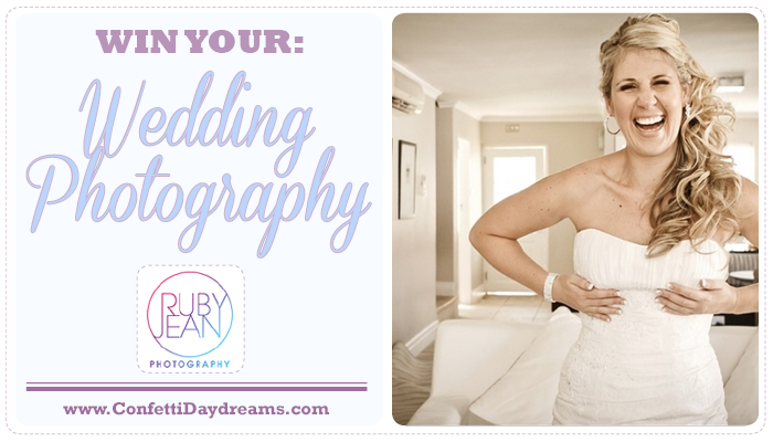 Win Your Wedding Photography with Ruby Jean