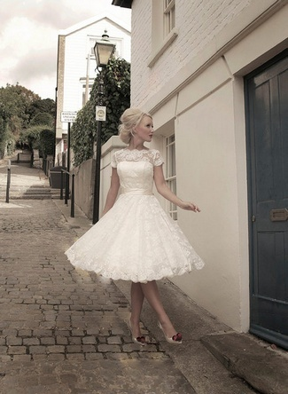 Short Wedding Dresses & Gowns