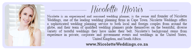 Wedding Expert Profile - Nicolette Weddings