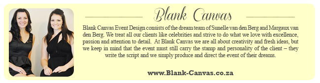 Wedding Expert Profile - Blank Canvas