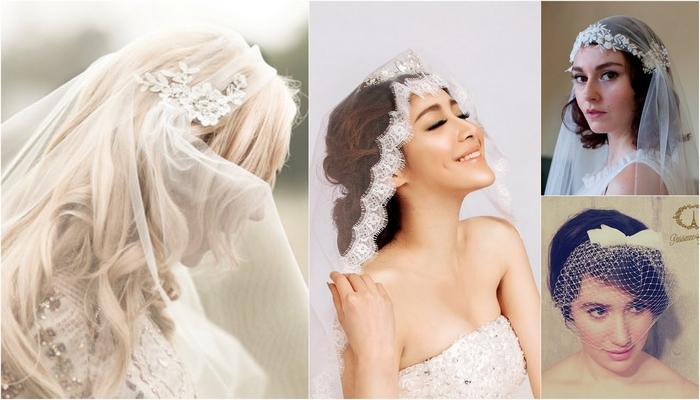 15 Wedding and Bridal Veils {Trendy Tuesday}