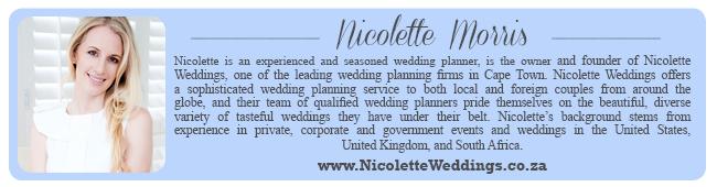 Wedding Expert Profile | Nicolette Weddings