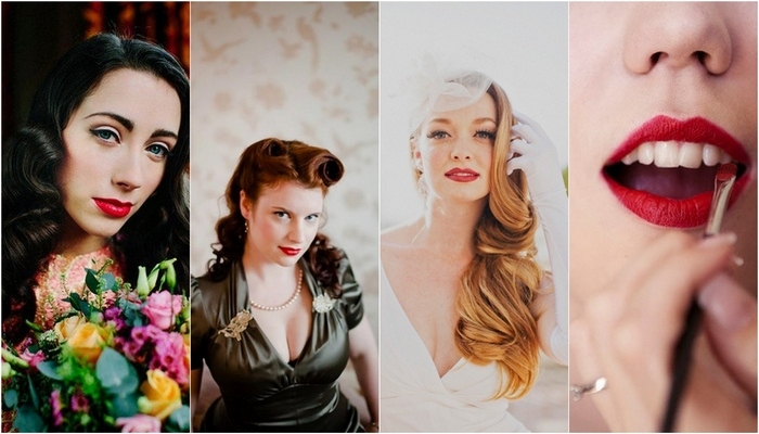 {1920's to 1950′s} Vintage Bridal Beauty Trends