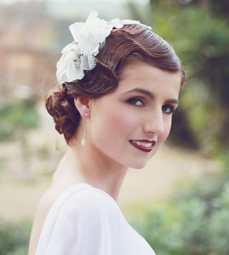 1920s Bridal Hair & Make-Up