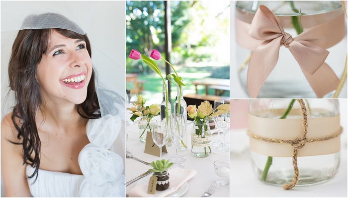 Blush and Metallic Wedding at Hathersage, Cape Town