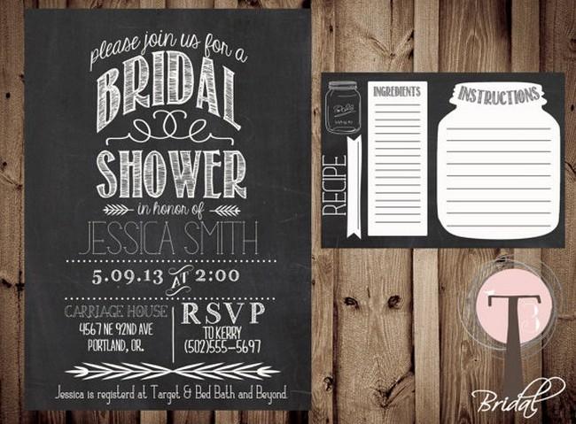 Bridal Shower Invitation Ideas