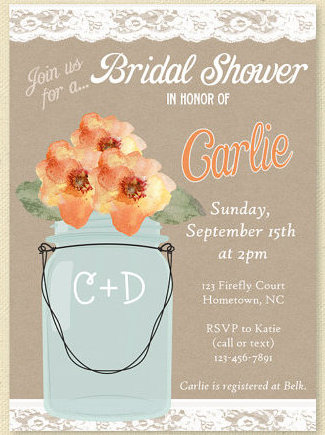 Bridal Shower Invite Ideas