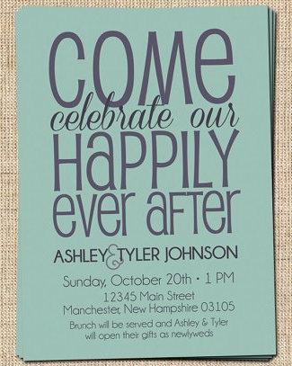 Couples Shower Invitation Ideas