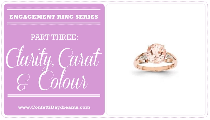 Engagement Ring Guide: Clarity, Colour & Carat