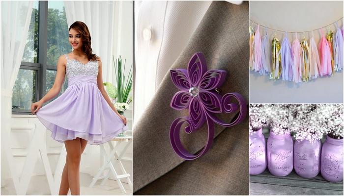 Lilac and Lavender Wedding Ideas {Trendy Tuesday}