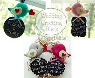 Love Bird Wedding Decor   Gifts Define