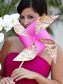 Pinwheel Wedding Ideas