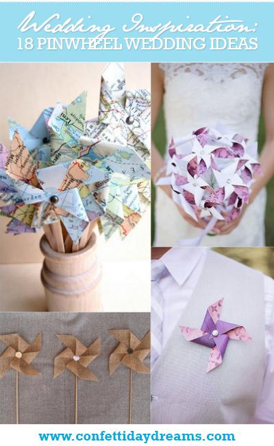 Pinwheel Wedding Ideas and Inspiration