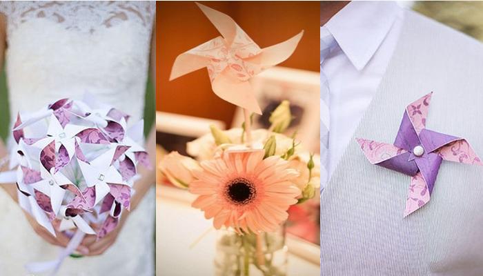 18 Pinwheel Wedding Ideas