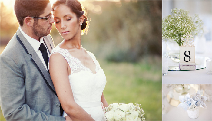 Baby's Breath & Lace Wedding, Franschhoek