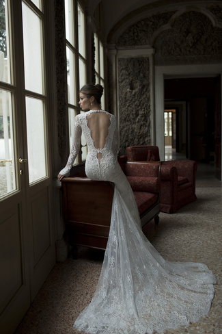 Berta Bridal Couture 2014 Winter Collection   Dress 2