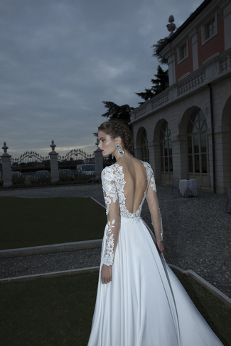 Berta Bridal Couture 2014 Winter Collection   Dress 11
