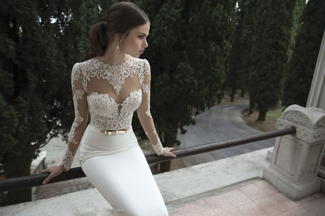 Berta Bridal Couture 2014 Winter Collection | Dress 15