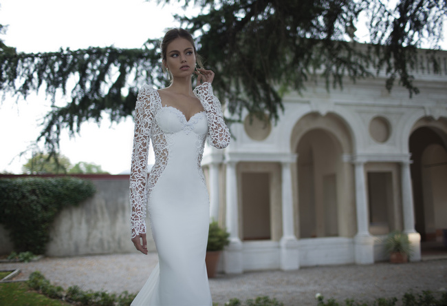 Berta Bridal Couture 2014 Winter Collection   Dress 17
