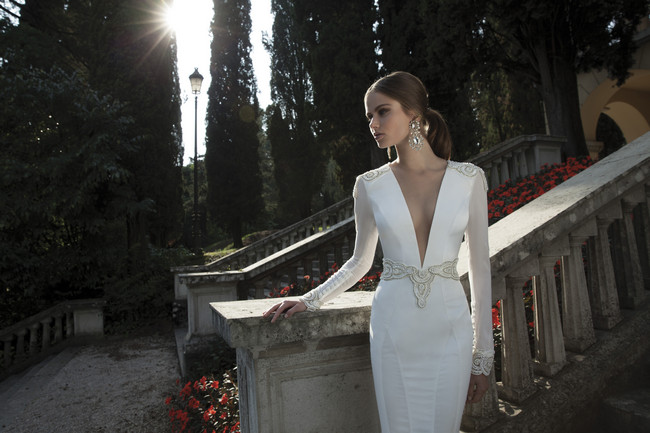 Berta Bridal Couture 2014 Winter Collection   Dress 18