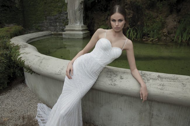 Berta Bridal Couture 2014 Winter Collection   Dress 19