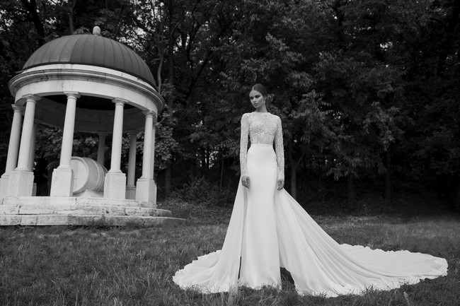 Berta Bridal Couture 2014 Winter Collection   Dress 23