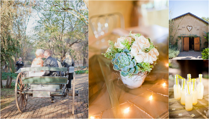 Handmade South African Rustic Wedding, Pretoria