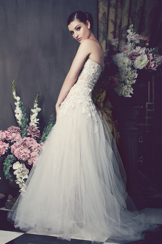 Kobus Dippenaar 2014 Bridal Collection   Christelle