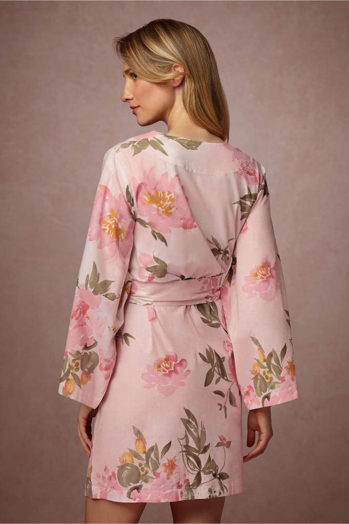 Bridesmaid Gift Ideas - Bridemaid Robes Pink 2