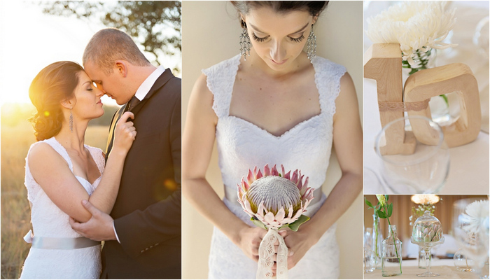 Proteas & Prettiness Weddng Isiphiwo Boutique Hotel