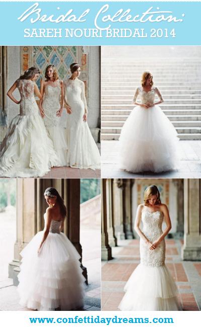 Sareh Nouri Couture 2014 Wedding Dress Bridal Collection