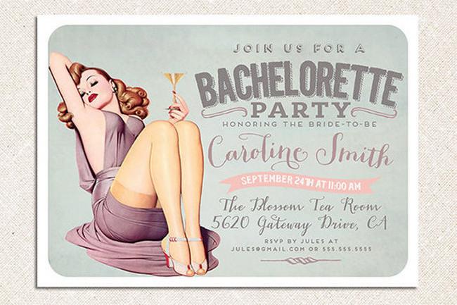 Cheeky Bachelorette Party Invite
